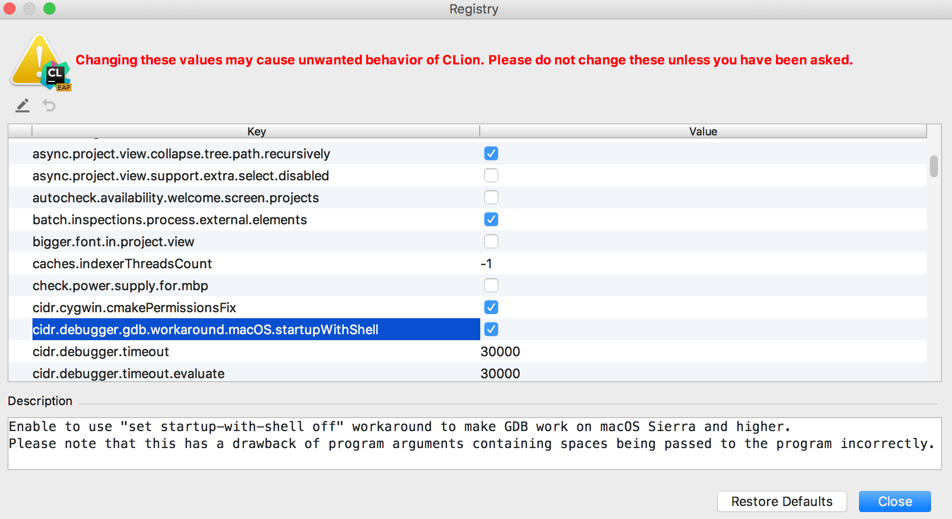 Directory Not Found Macos Error Code