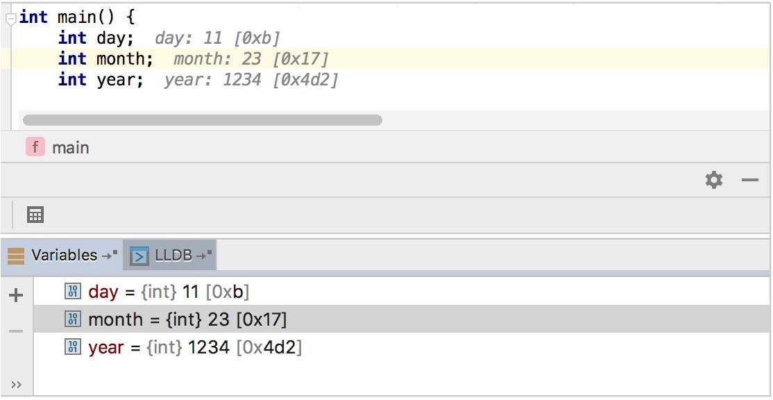 Hexadecimal View - Help | CLion