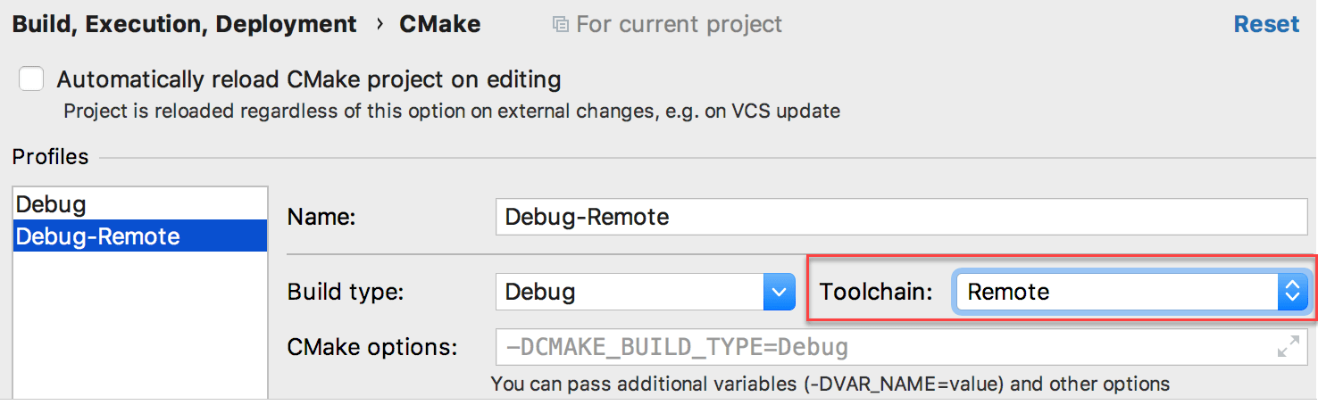 Full Remote Mode - Help   CLion