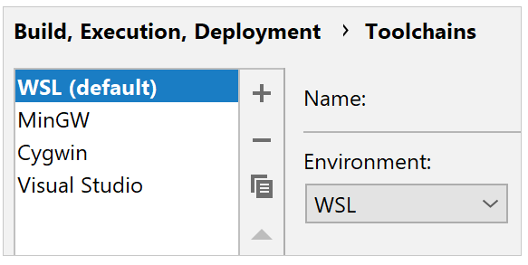 WSL - Help | CLion