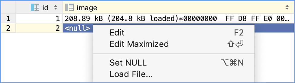 Load file