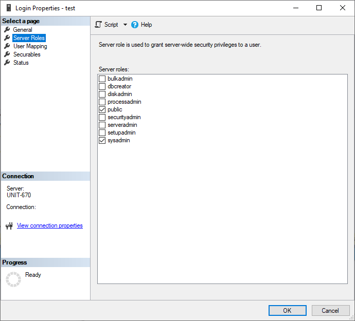 Configure user roles
