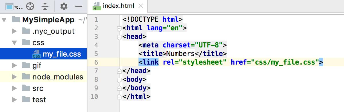 HTML - Help   IntelliJ IDEA