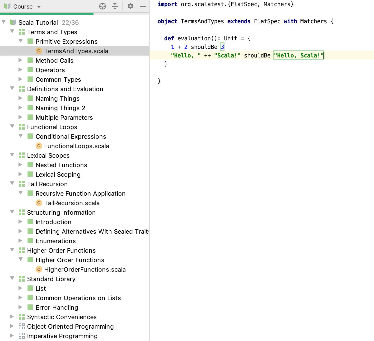 edu explore scala tutorial