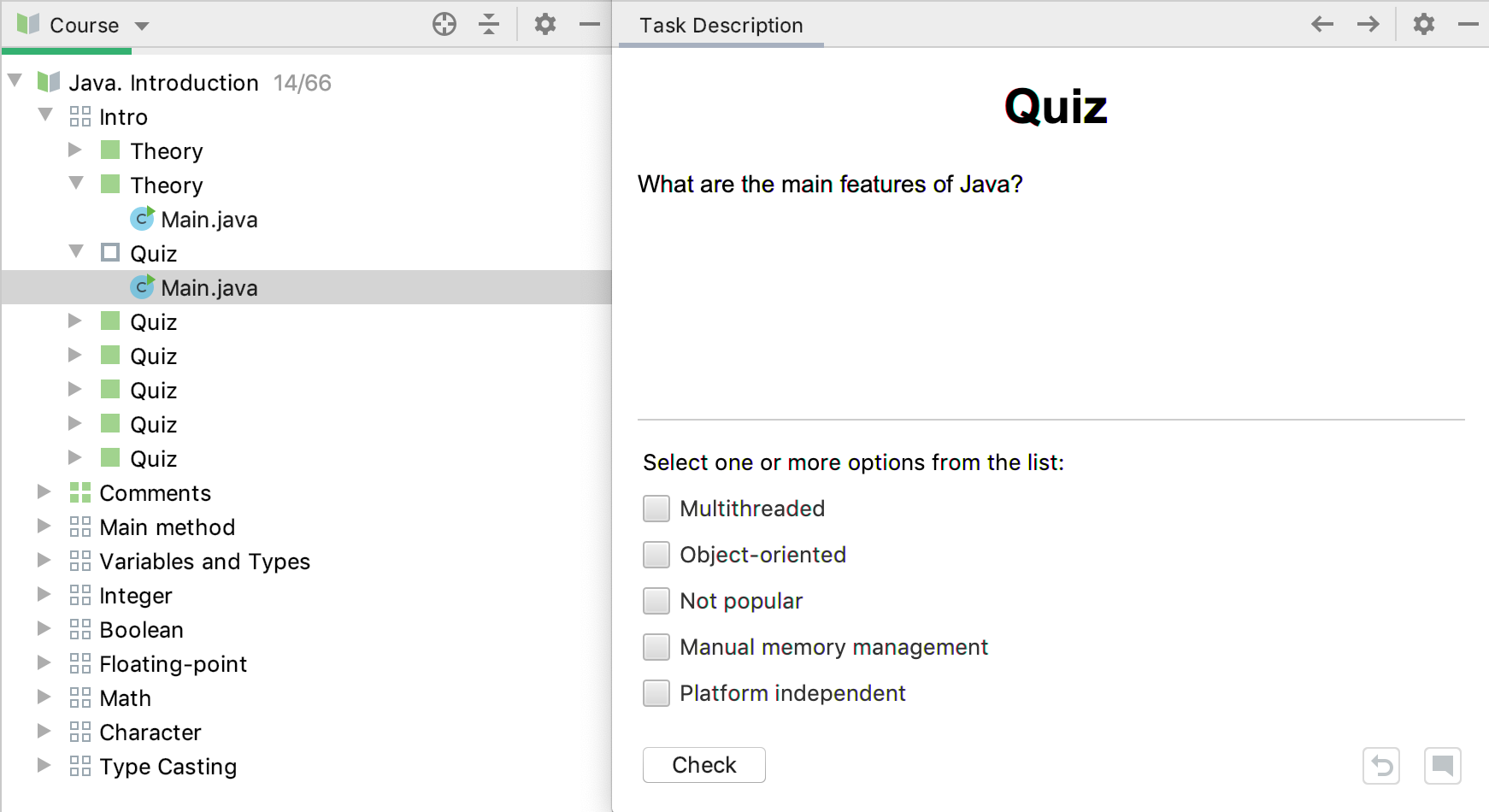 edu quiz java intro