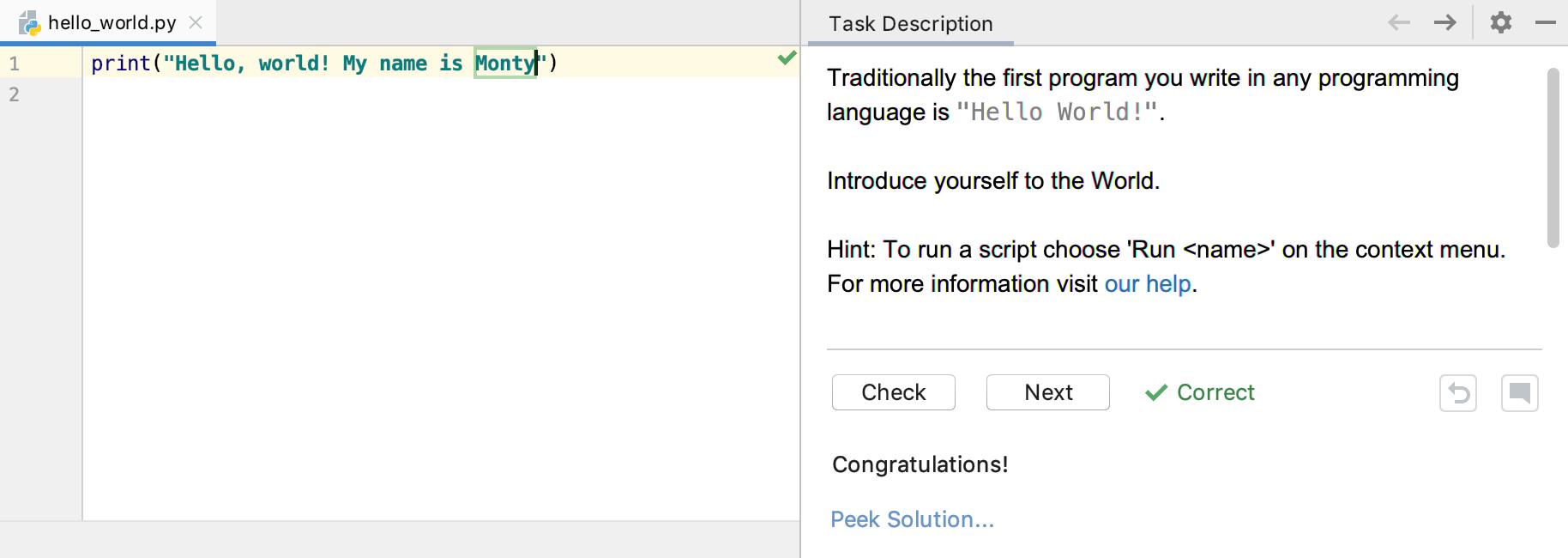 edu task solved intro python