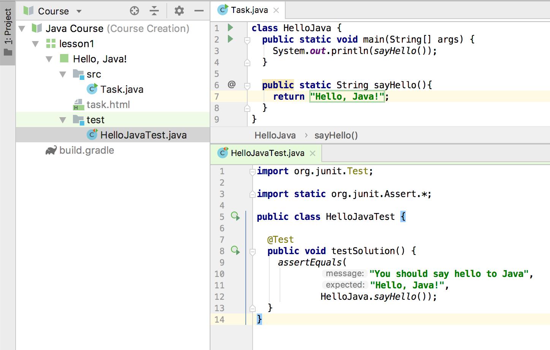 edu test code java