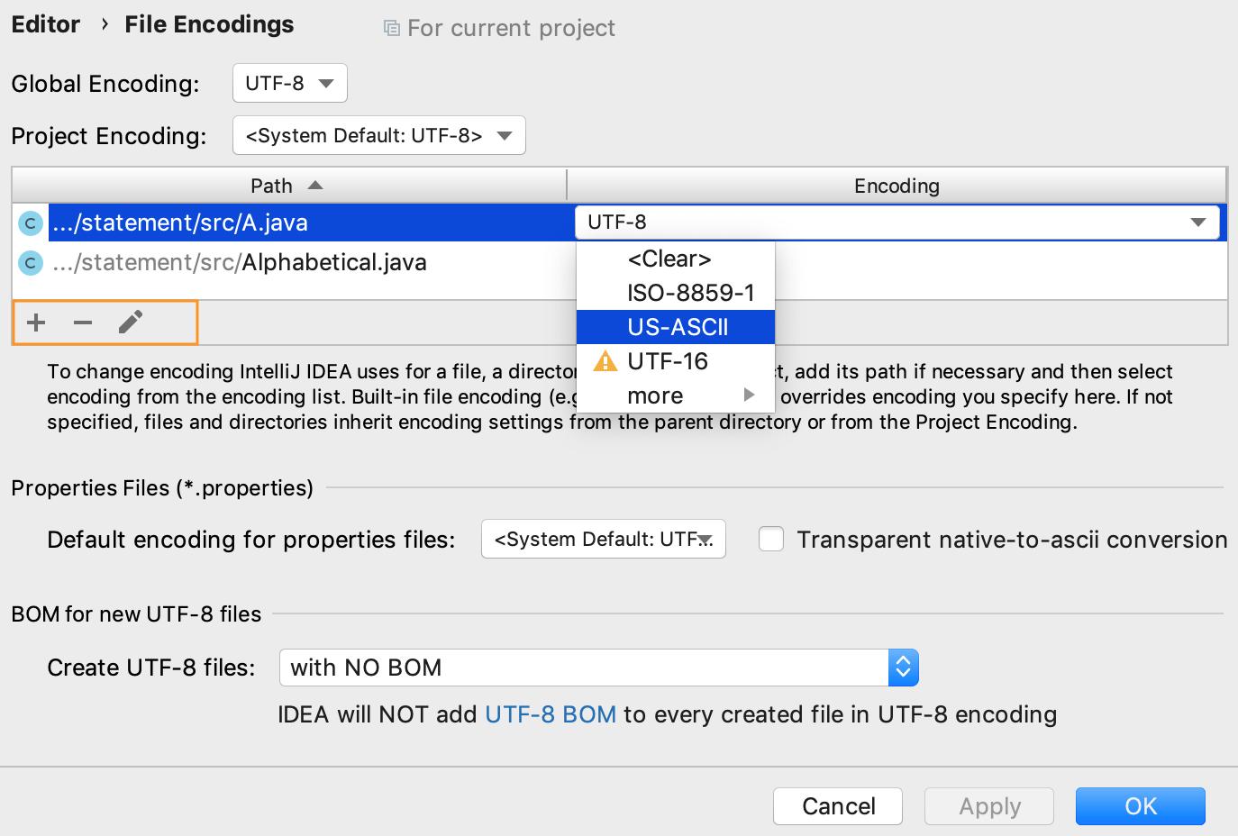 File Encodings