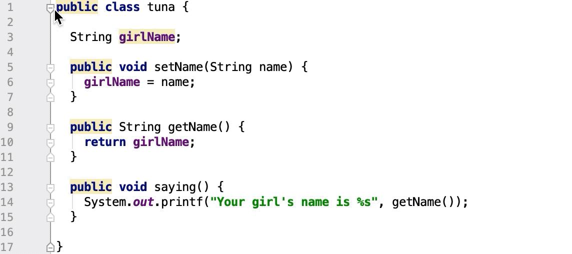 Working with source code - Help | IntelliJ IDEA