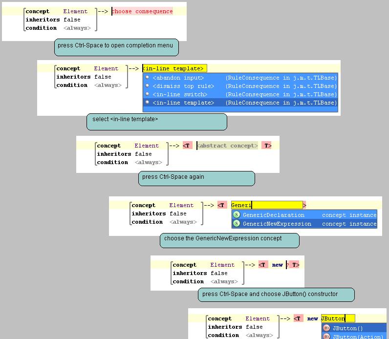 gd1 inline macro in switch