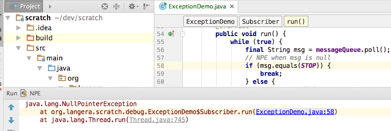 Tutorial: Java Debugging Deep Dive - Help | IntelliJ IDEA