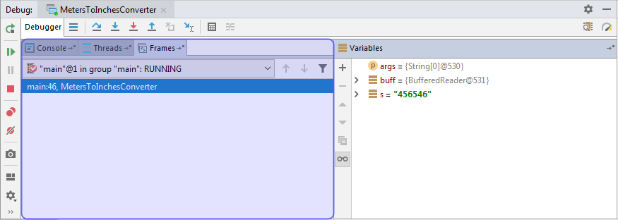 Debug Tool Window - Help | IntelliJ IDEA