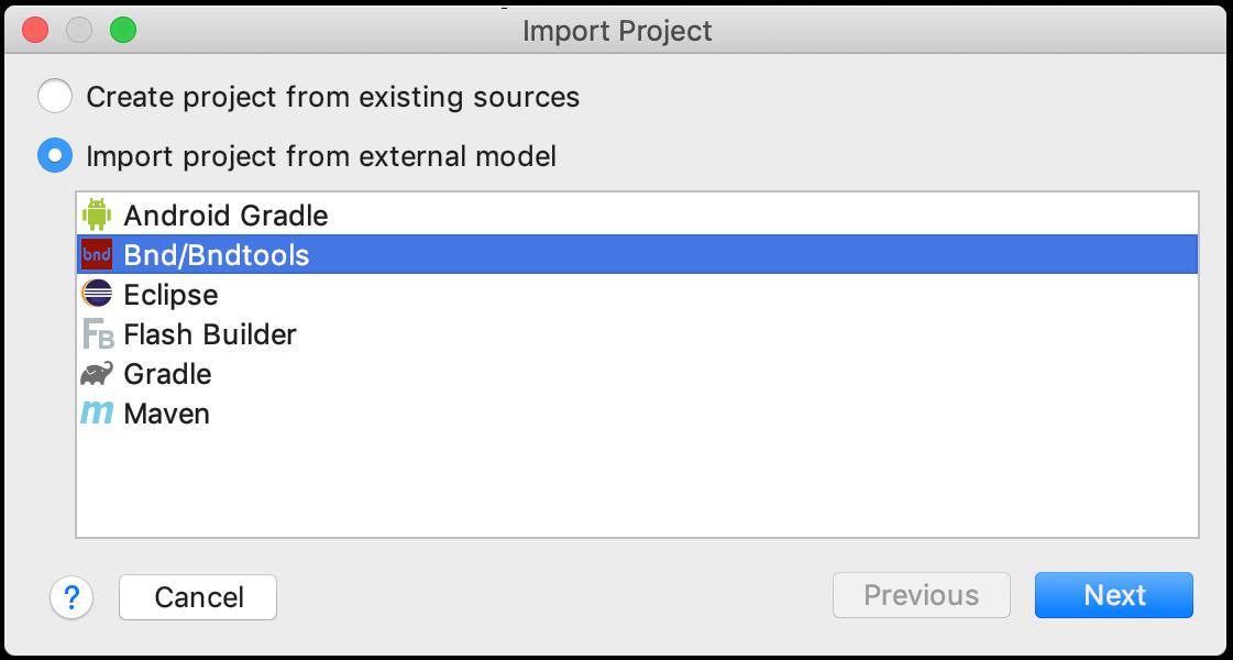 Import a project - Help | IntelliJ IDEA
