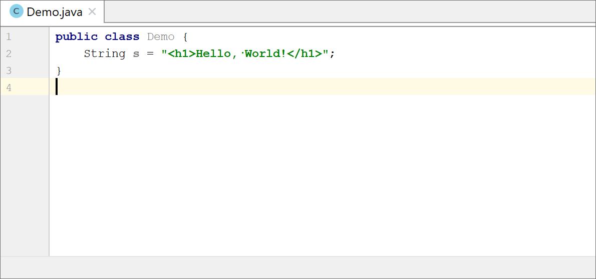 Language injections - Help   IntelliJ IDEA