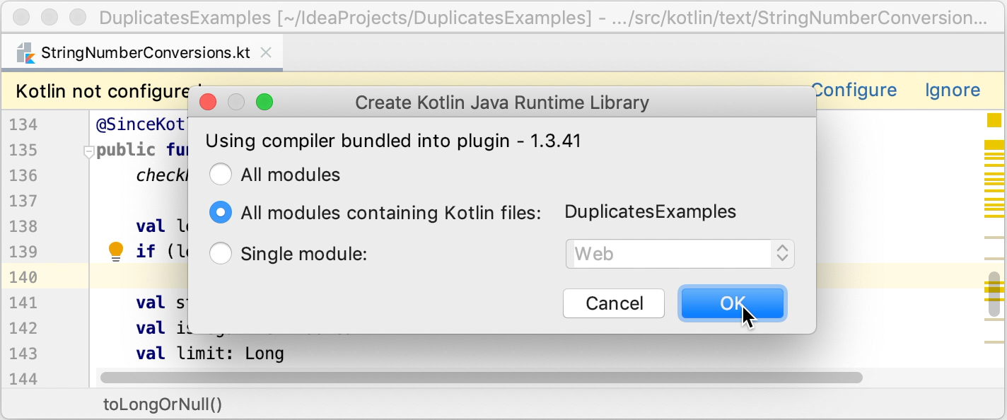 Mixing Java and Kotlin in One Project - Help   IntelliJ IDEA