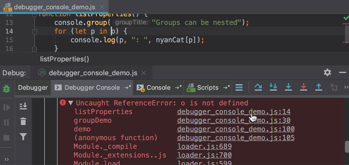 Running and Debugging Node js - Help | WebStorm