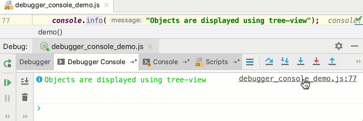 Running and Debugging Node js - Help | IntelliJ IDEA