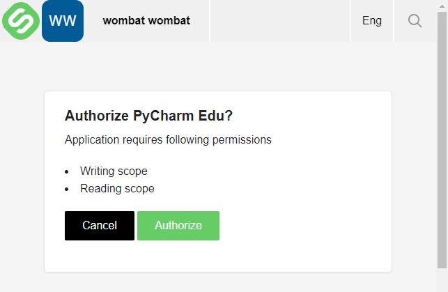 Authorise