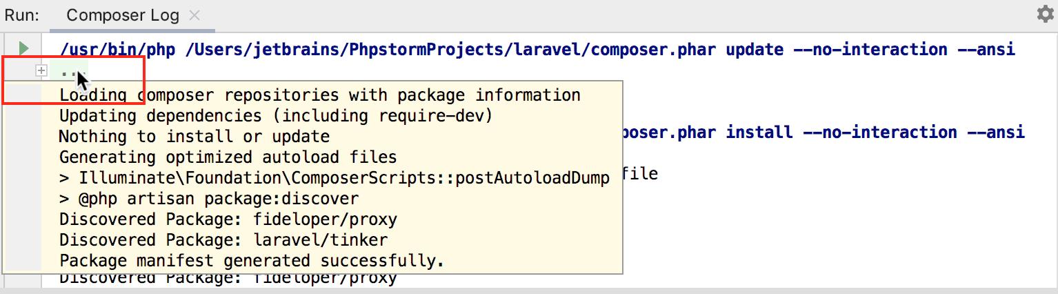 Composer Dependency Manager - Help | PhpStorm