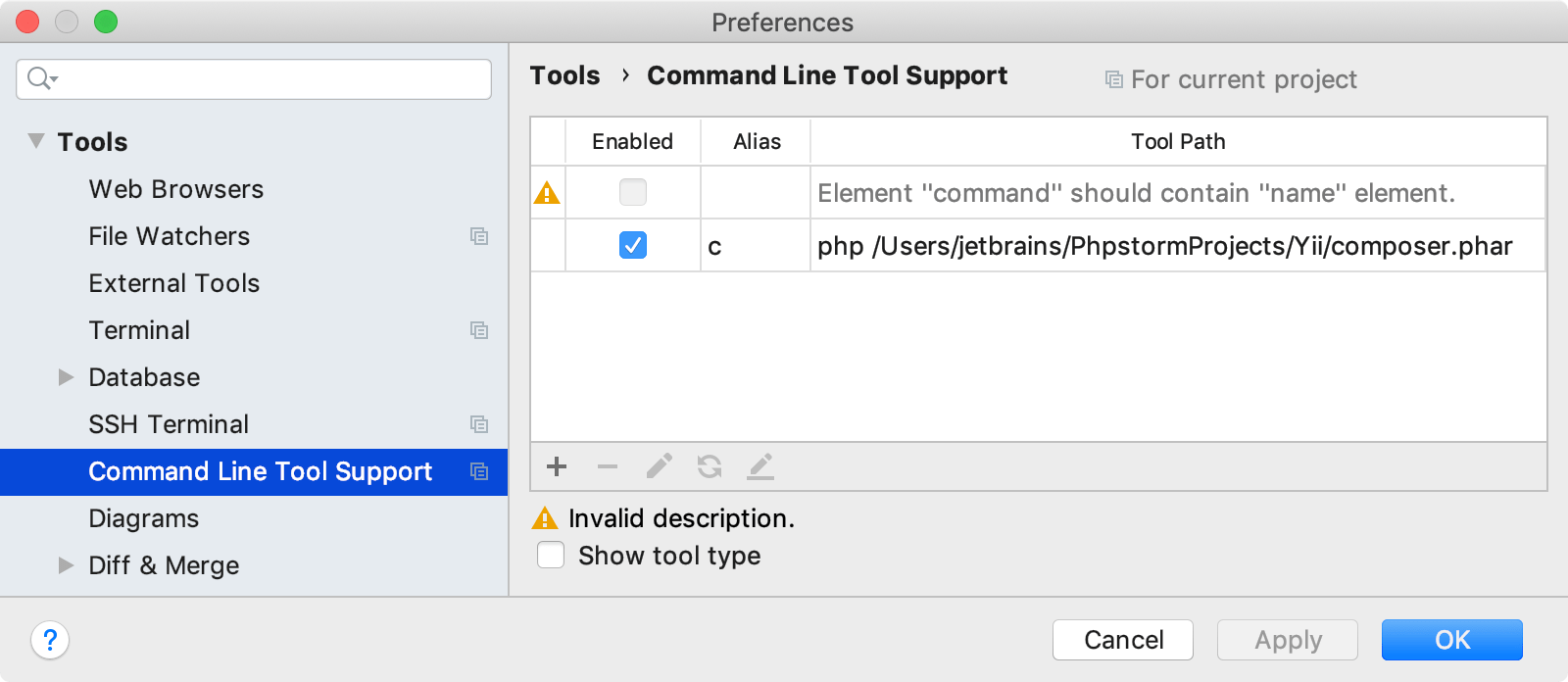 PHP Command Line Tools - Help | PhpStorm