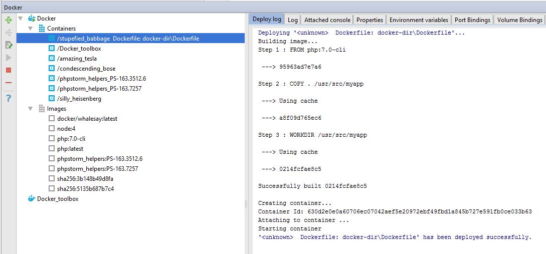 Docker Node Environment Variables