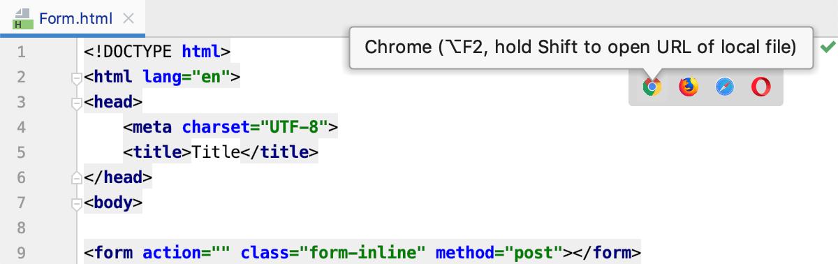 Configuring Browsers - Help | PhpStorm