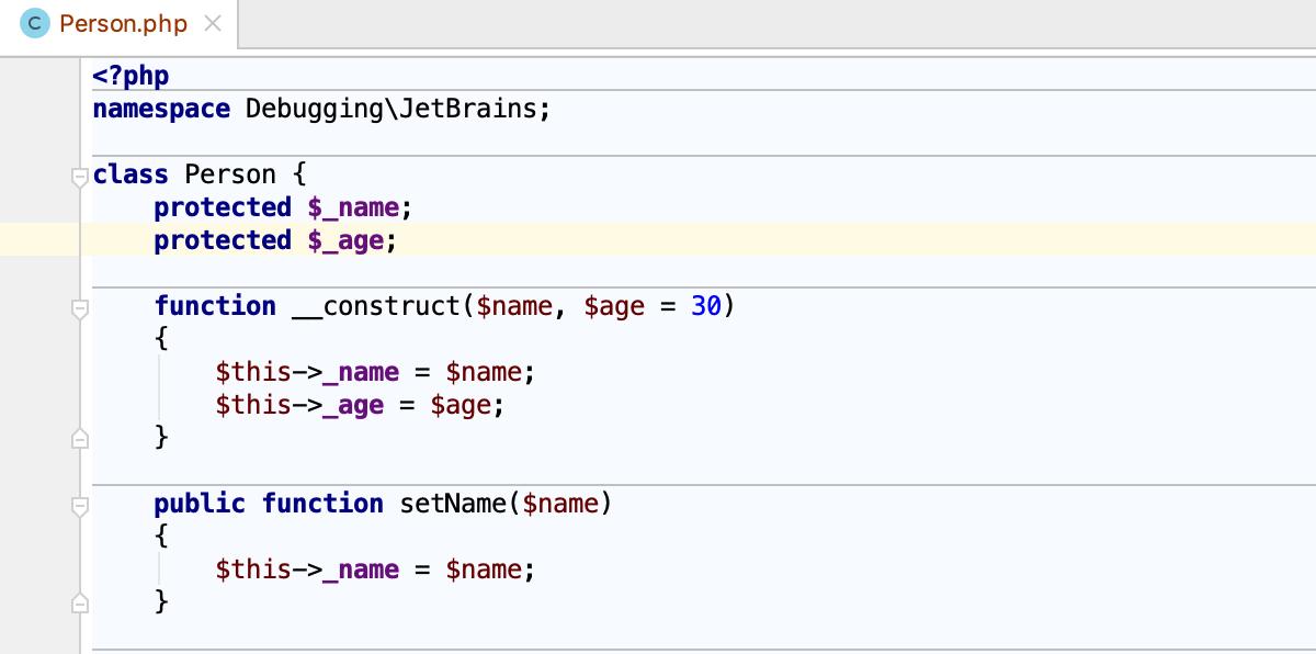 Source code navigation - Help | PhpStorm