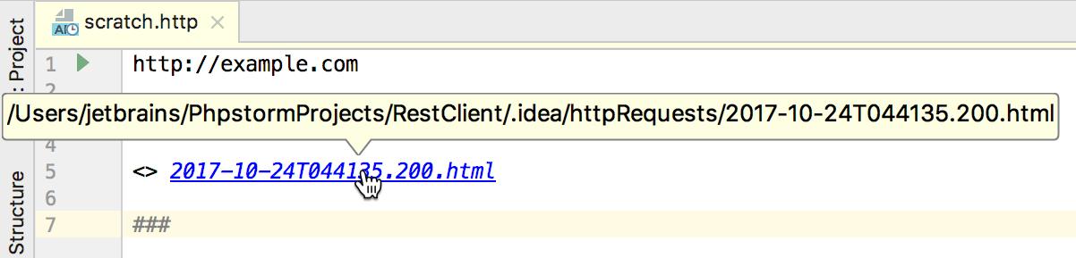 HTTP client in IntelliJ IDEA code editor - Help | IntelliJ IDEA