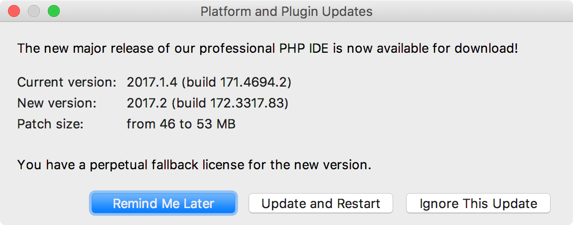 Platform and Plugin Updates
