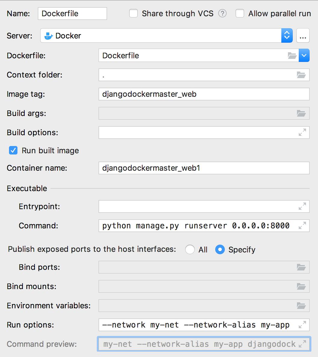 Docker - Help | PyCharm