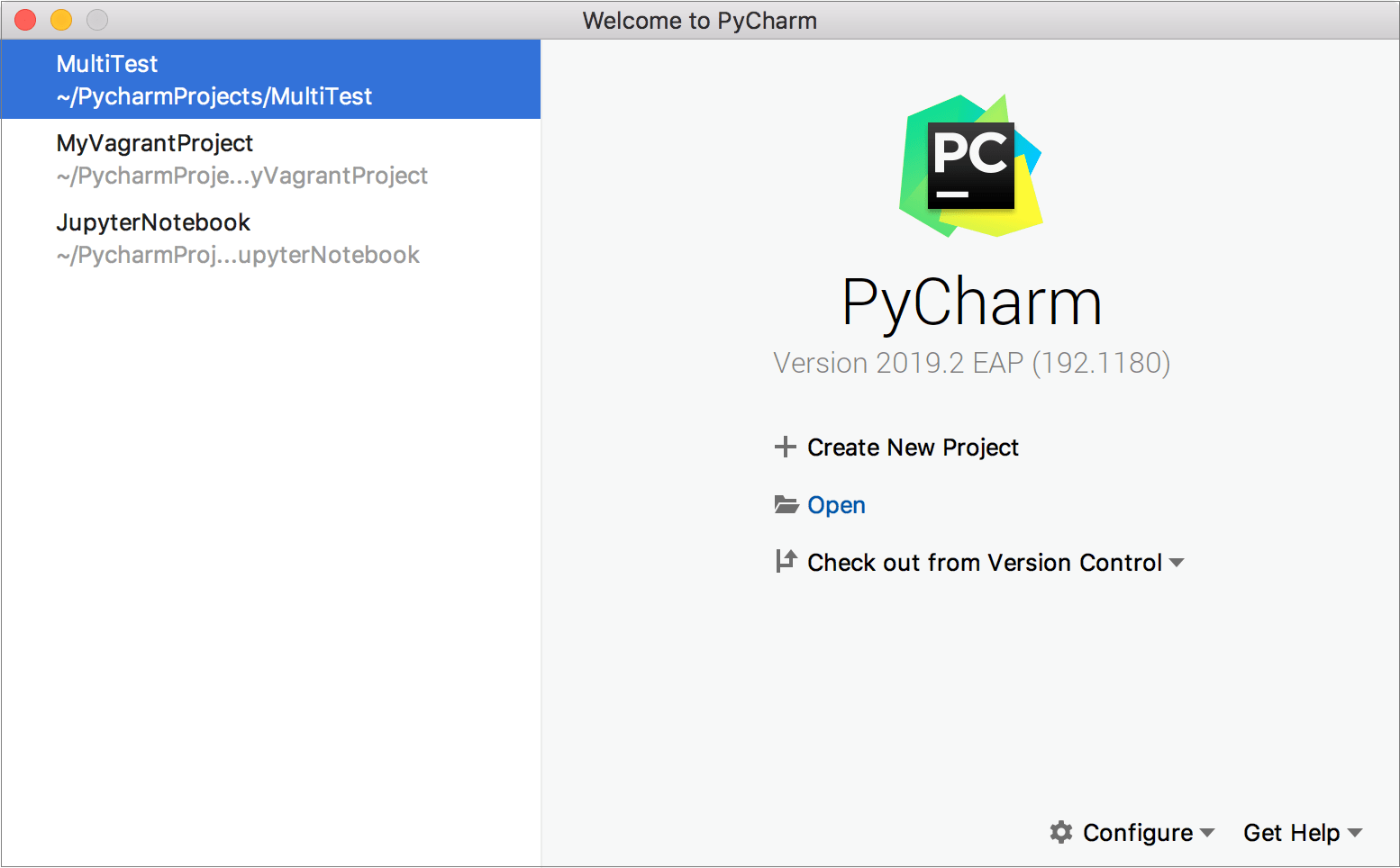 Getting started - Help | PyCharm