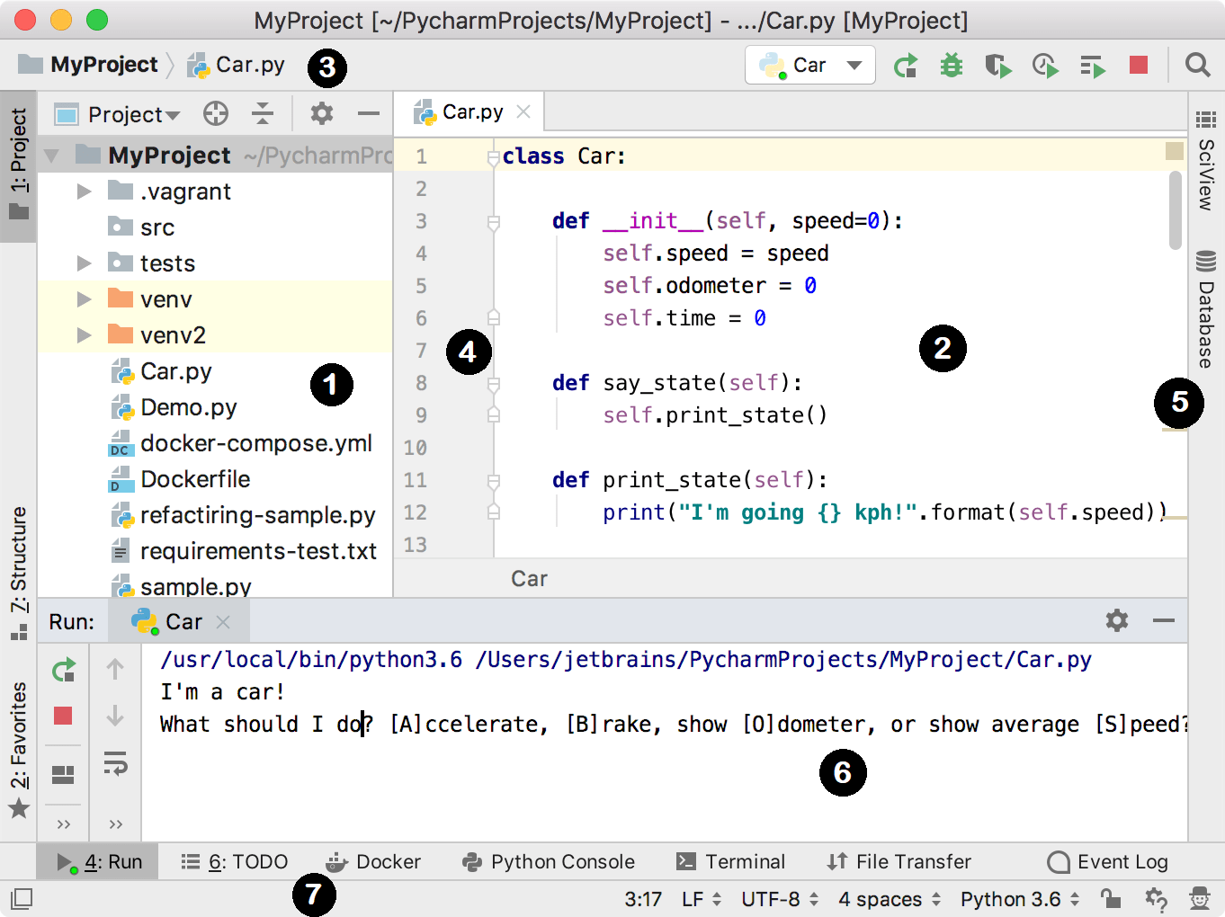 Quick Start Guide - Help | PyCharm