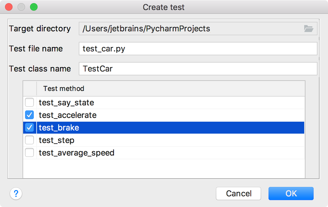 Step 3  Testing Your First Python Application - Help   PyCharm