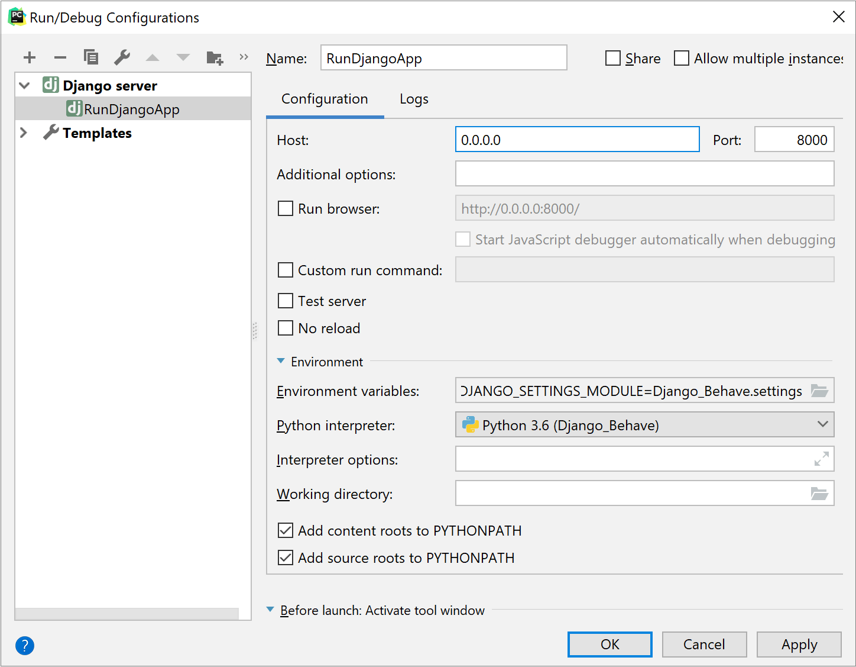 Configure a remote interpreter using Docker Compose - Help