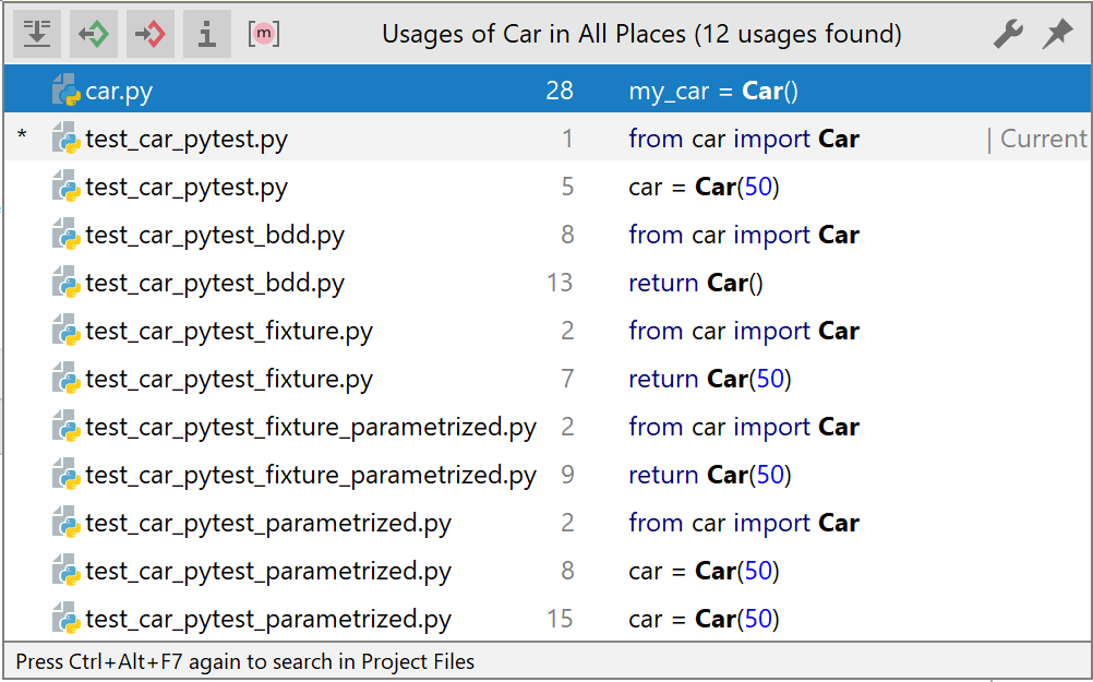 Finding and replacing text in a project - Help | PyCharm