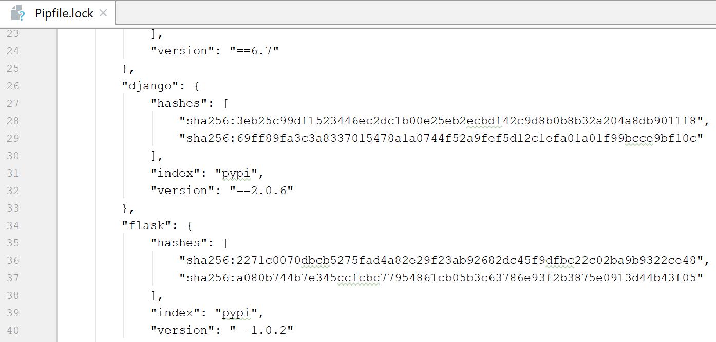 Manage dependencies using pipfile - Help   PyCharm