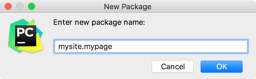 Creating Python Packages - Help | PyCharm