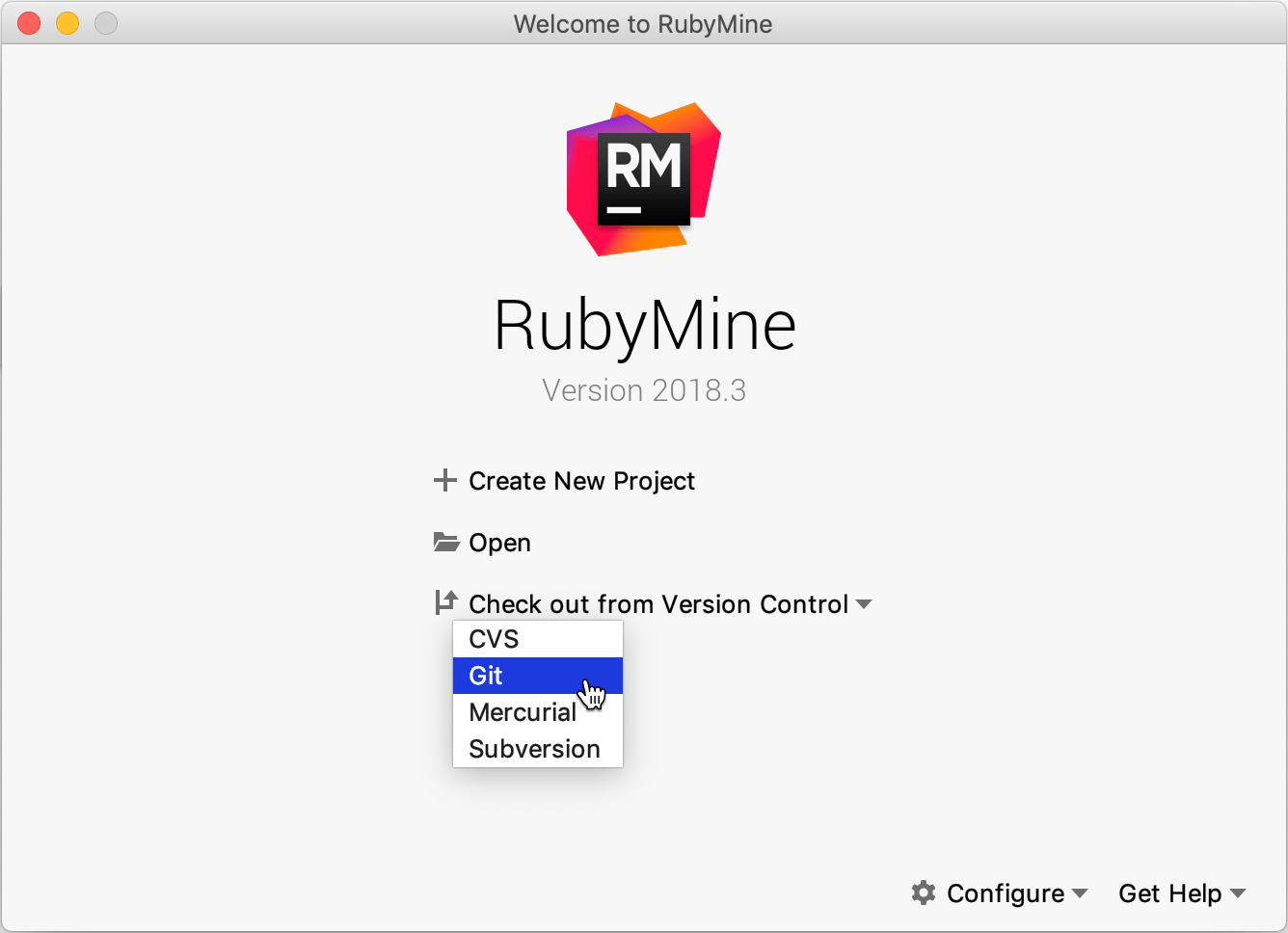 Getting started guide - Help | RubyMine