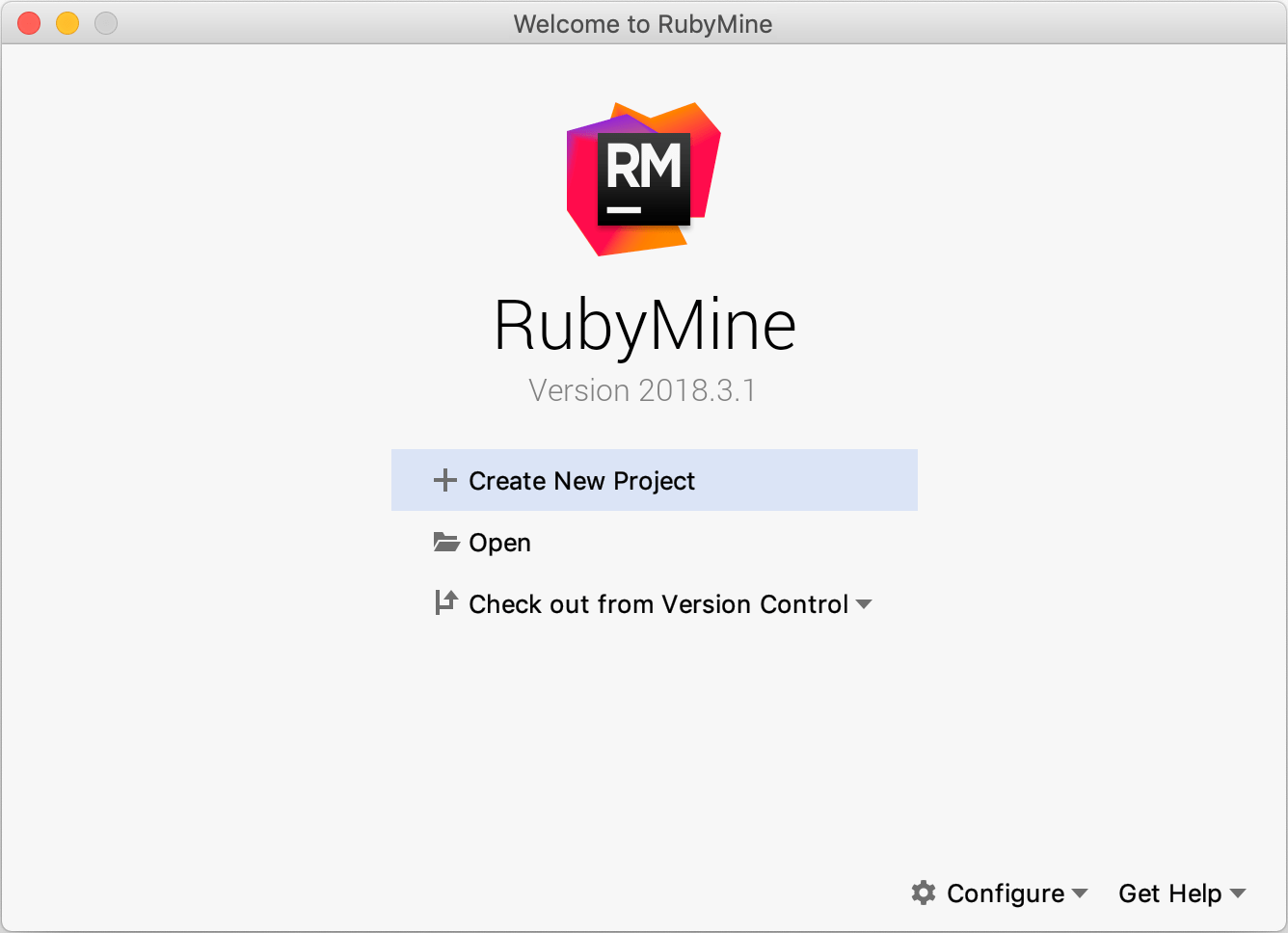 Creating and running your first Ruby project - Help | RubyMine