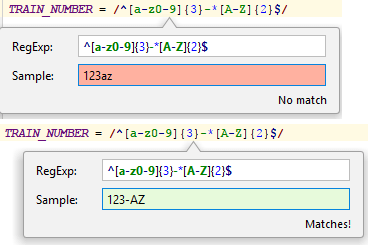 Regular Expression Syntax Reference - Help | RubyMine