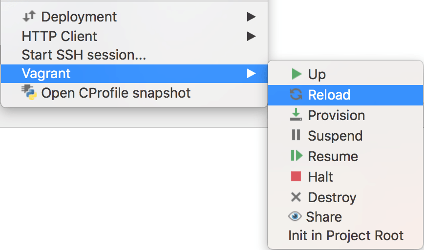 Using the Advanced Vagrant Features in PhpStorm - Help | PhpStorm