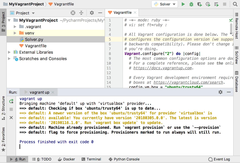 Configuring PyCharm to Work on the VM - Help | PyCharm