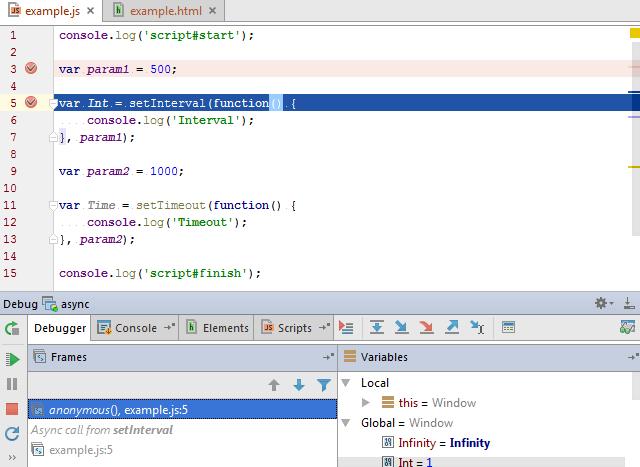 Debugging JavaScript in Chrome - Help | WebStorm