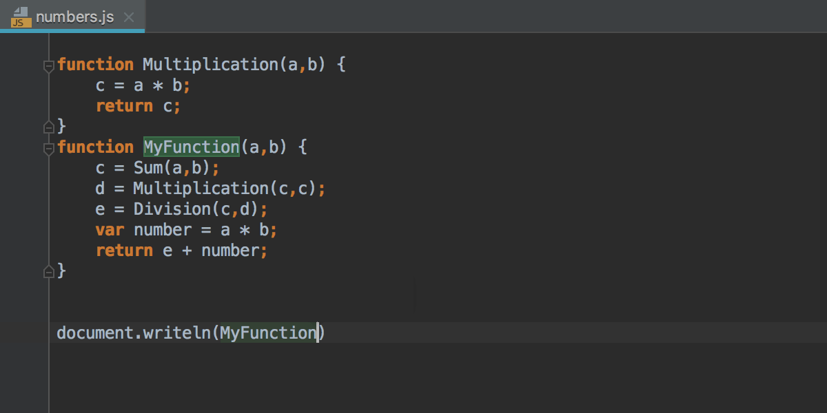 Auto-Completing Code and Paths - Help | WebStorm