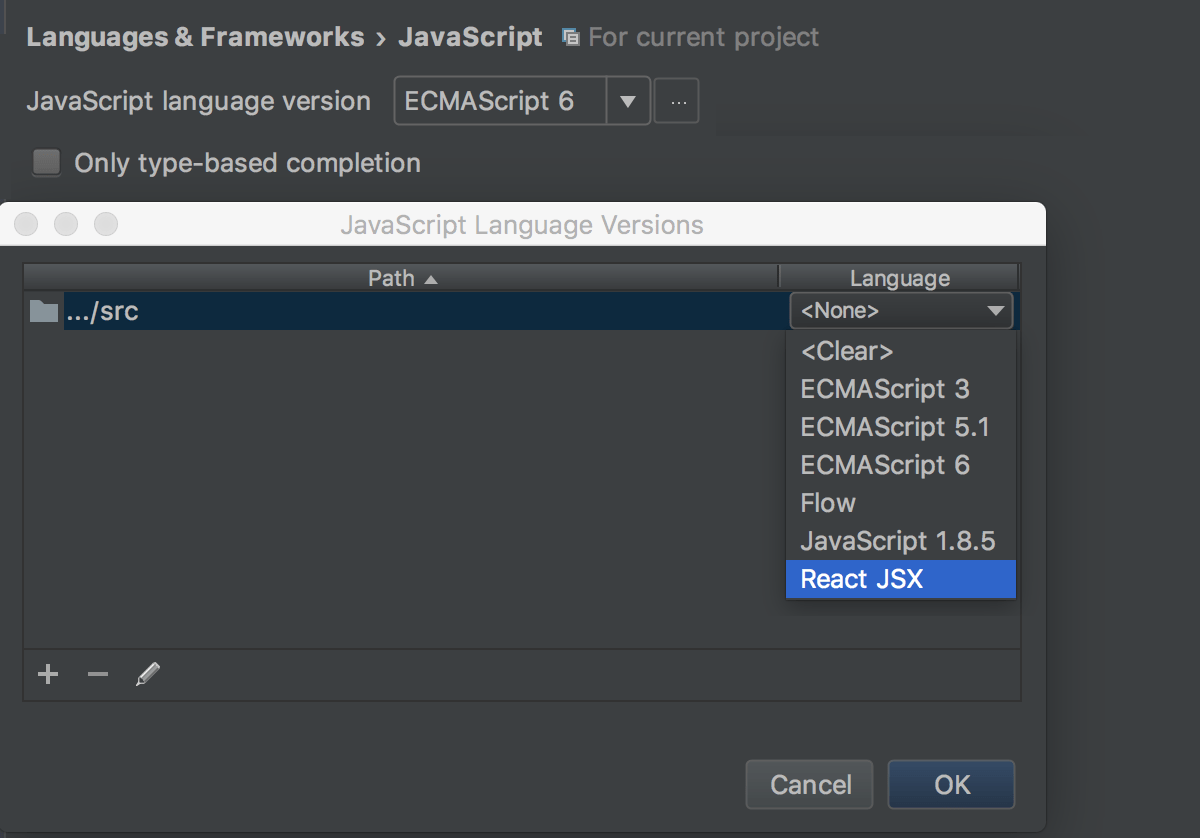 JavaScript - Help | IntelliJ IDEA