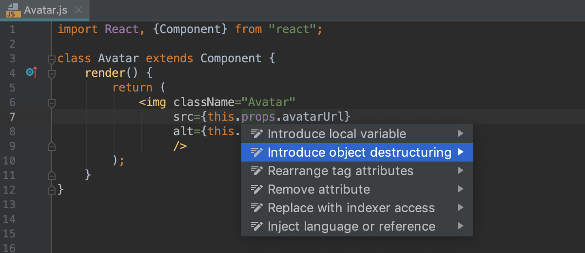 React - Help | WebStorm