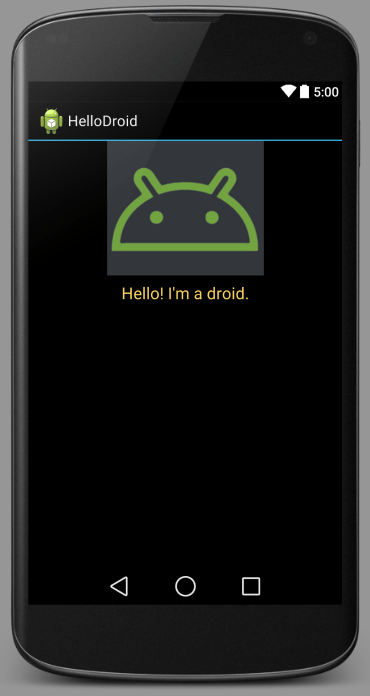 android ui designer styled text
