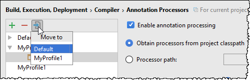 annotation profile move