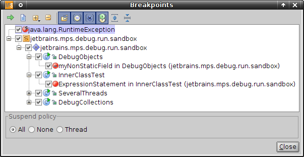 breakpoints view