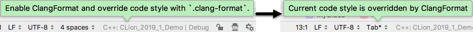 clangformat notifications